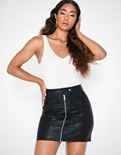 Only Onlerica Faux Leather Skirt Otw