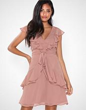 NLY Eve Flounce Tied Dress