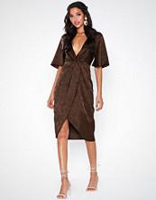 NLY Eve Twisted Jacquard Dress