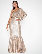 U Collection One Shoulder Maxi Dress
