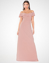 NLY Eve Off Shoulder Flounce Gown