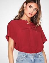 Polo Ralph Lauren Oversize Shirt Mørk Rød