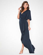 NLY Eve Drapy Wrap Gown
