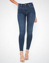 Gina Tricot Molly High Waist Jeans Mørk blå