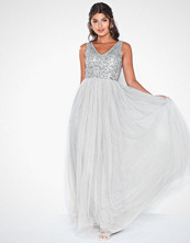 Maya Sequin Bodice Maxi Dress