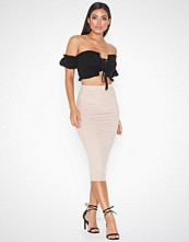 NLY One Midi Suede Skirt