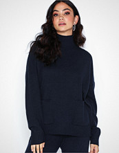 Selected Femme Slfeya Cashmere Ls Pocket Knit B