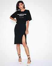 NLY Trend Belt Rib Skirt