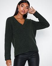 Selected Femme Slflanna Ls Knit V-Neck Noos