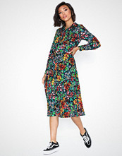 Only Onlreign L/S Long Shirtdress Wvn