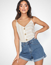 River Island Summer Button Vest Top
