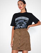 Pieces Pcjola Hw Skirt D2D Brun