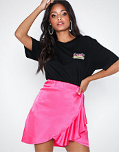 NLY One Satin Frill Skirt