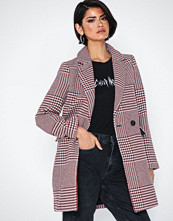 Only Onlselena Check Wool Coat Cc Otw