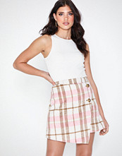 NLY Trend Wrap Front Mini Skirt