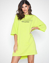 Missguided Slogan T-Shirt Dress