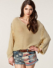 Club L Wide Knit Stud Sweater