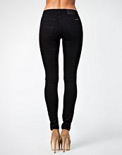 Nudie Jeans Skinny Lin Org Black Black