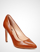Mango Leather Pumps