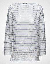 Gant Yc. Embroidered Stripe Top