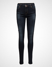 2nd One Nicole 014 Blue Midnight, Jeans Skinny Jeans Blå 2ND