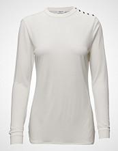 Filippa K Crepe Button Jersey Top