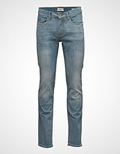 Mango Man Slim-Fit Light Wash Tim Jeans