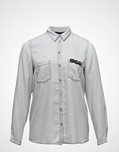 Violeta by Mango Denim Soft Shirt