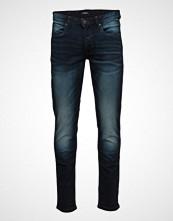 Lindbergh Taperedfitjeans-Usedindigo Slim Jeans Blå LINDBERGH