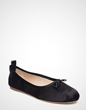 Mango Lace-Up Ballerinas