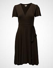 by Ti Mo Silhouette Wrap Dress