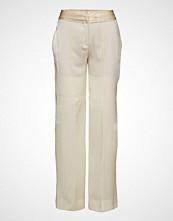 Mango Silk-Blend Palazzo Trousers