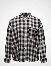 Violeta by Mango Check Cotton Shirt