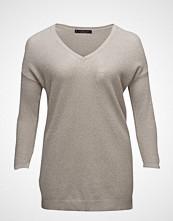 Violeta by Mango Metallic Wool-Blend Sweater