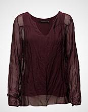 Coster Copenhagen Silk/Jersey Top W. Long Sleeve