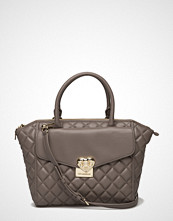 Love Moschino Bags Medium Quilted Top Handle Bag With Strap