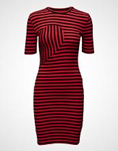 BACK Abstract Rib Dress
