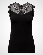 Minus Vanessa Top T-shirts & Tops Sleeveless Svart MINUS