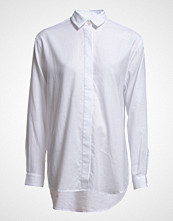 Samsøe & Samsøe Caico Shirt 2634 Langermet Skjorte Hvit SAMSØE & SAMSØE