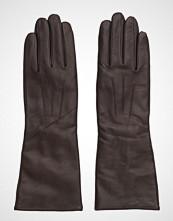 MJM Francesca Long Glove Leather Brown