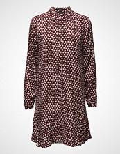 Maison Scotch Viscose Dress With Peplum Hem