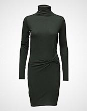 BACK Twist Polo Dress