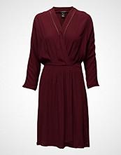 Maison Scotch Drapey Viscose Wrapover Dress