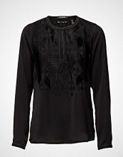 Maison Scotch Silky Feel Top With Embroideries