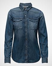 Calvin Klein Lean Shirt - Mid Indigo