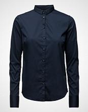 Mos Mosh Tilda Shirt Langermet Skjorte Blå MOS MOSH