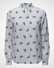 Gant O1. Striped Paisley Print Shirt
