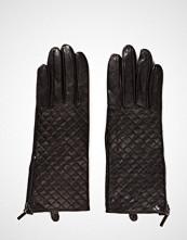 MJM Mjm Glove Lucille Quilted Sheepskin Black