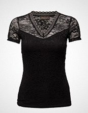 Rosemunde T-Shirt Regular Ss W/Lace