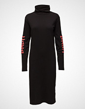 BACK Ls Polo Dress Print